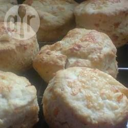 Cheese Scones @ allrecipes.com.au.  Good scones.  Use weights not cups.  Makes 9.