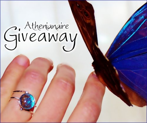 Ring #Giveaway by Winged Art by Athenianaire! Enter to win real butterfly jewelry by March 15, 2013 at 11:59pm EST.