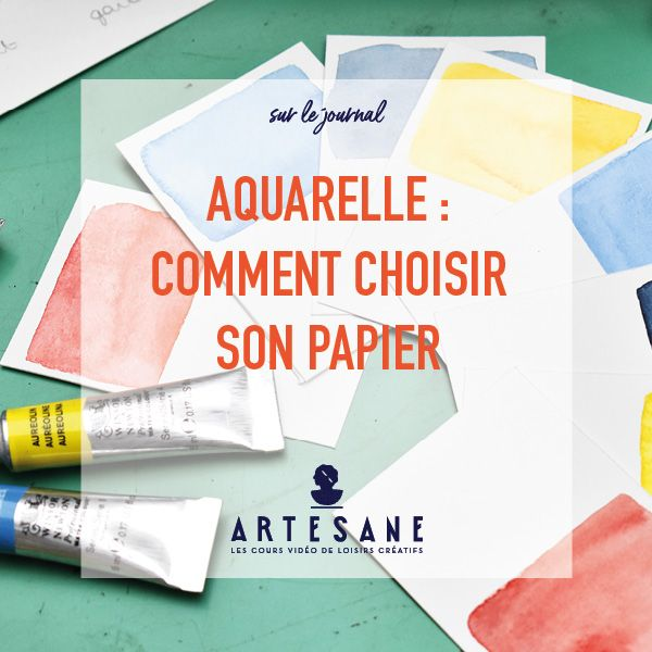 Aquarelle Comment Choisir Son Papier Aquarelle Papier