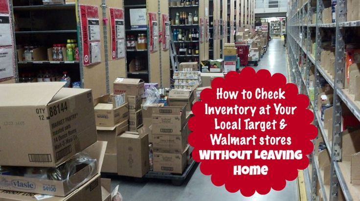 How to Check Inventory at Your Local Target & Walmart Stores