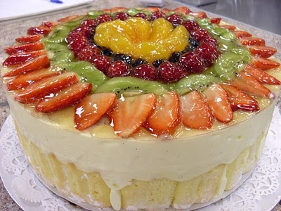 Charlotte Russe (Bavarian Cream Torte)
