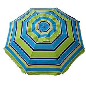 DayTripper Beach Umbrella - Seventies Retro Stripe - BeachKit