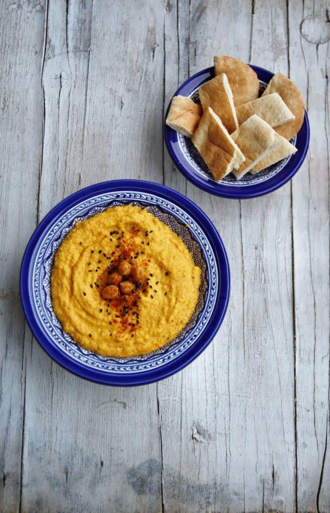 Hummus di zucca