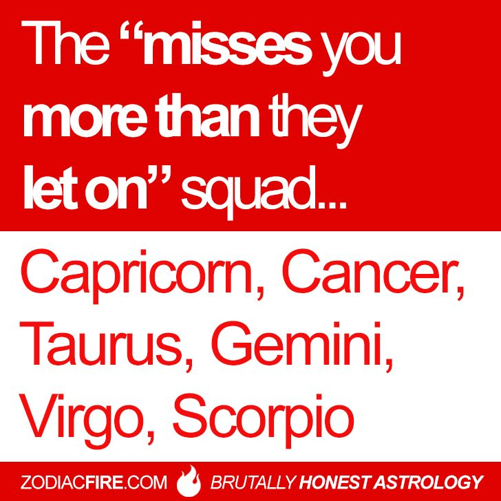 A Misses Man Signs You Capricorn