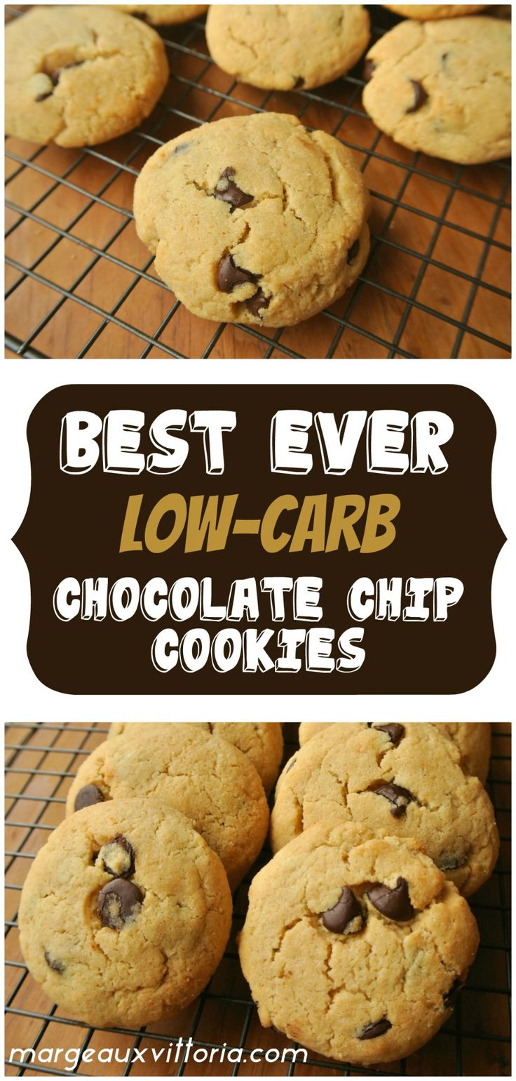 Best 25 Low carb chocolate chip cookies ideas on Pinterest Low