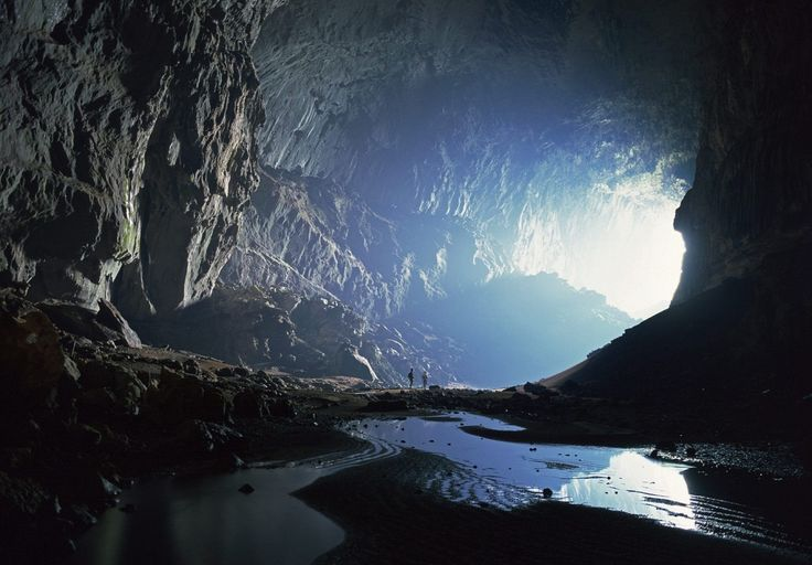 This is a picture of the Mulu Caves in Malaysia. I have chosen this picture as I'd like for there to be some holes in the cavern that reveal the outside of this other dimension to add to the effect. This picture is also good reference for lighting the scene as it shows how the light actually enters and interacts with the cave.
