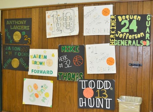 softball senior night posters | Scenes from Seniors Night : Herkimer County Community College ...
