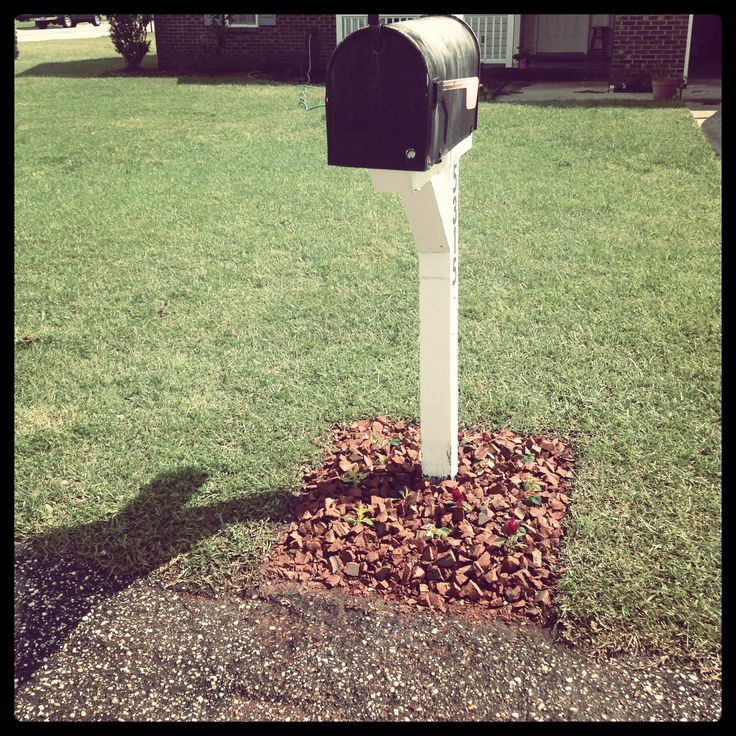 Don't know what to do with broken bricks? Crush them up with a hammer and add into flower bed. Save money on mulch!