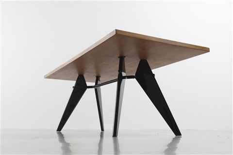 Table S.A.M. n° 506, démontable / S.A.M. no. 506 demountable table by Jean Prouvé