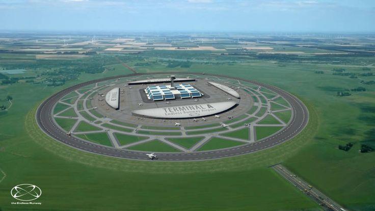 """Een onderzoek van de Nederlandse wetenschapper Henk Hesselink naar een cirkelvormige landingsbaan trekt veel belangstelling. """"Dit verbaast me wel."""""""
