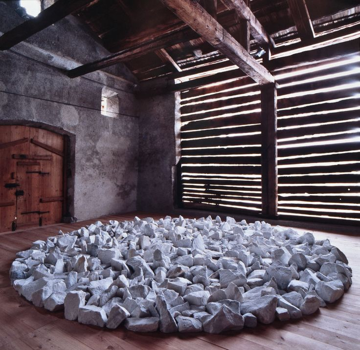 Richard Long - SIENE CIRCLE