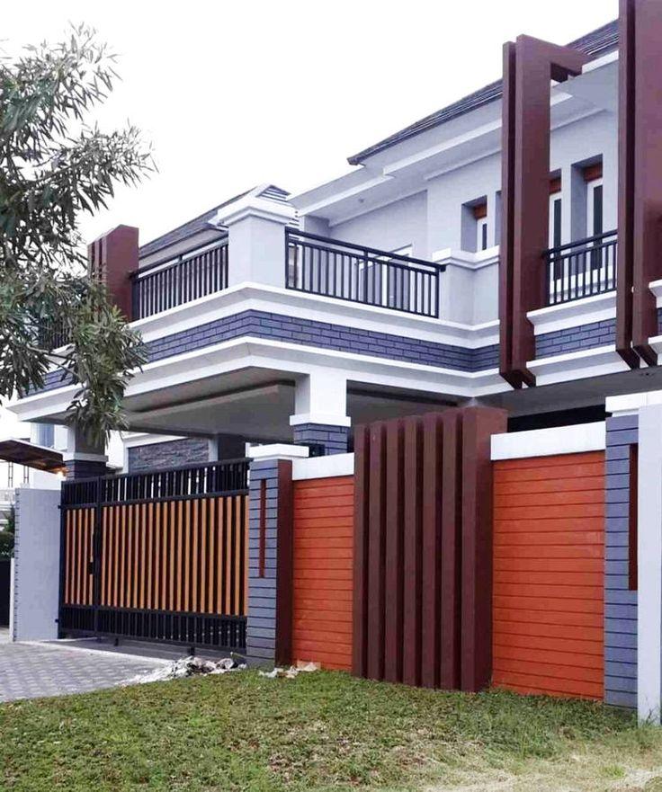 Model Pagar Tembok Minimalis Yang Keren   Home fashion ...
