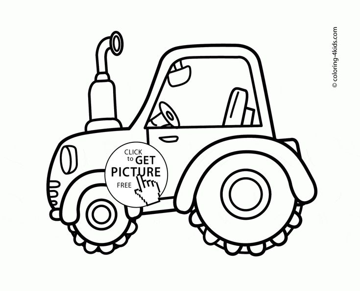 cute tractor coloring page for toddlers transportation coloring pages printables free wuppsycom