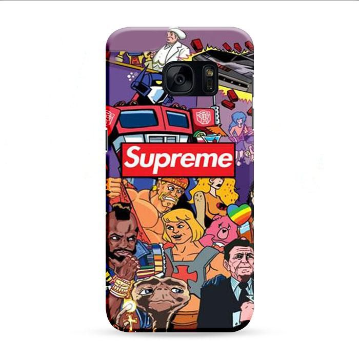 Supreme Wallpaper Peoples Samsung Galaxy S7 Edge 3D Case