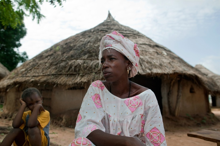 """""""It is hard not to be able to feed your children,"""" says Adama Diallo.  """"You can't be at peace. You can't sleep at night."""" www.oxfamamerica.org"""