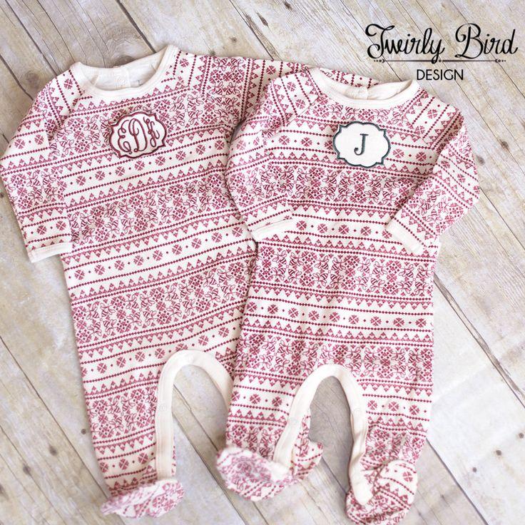 Newborn Christmas Outfit - Newborn Christmas Pajamas- Baby Girl Christmas Outfit…
