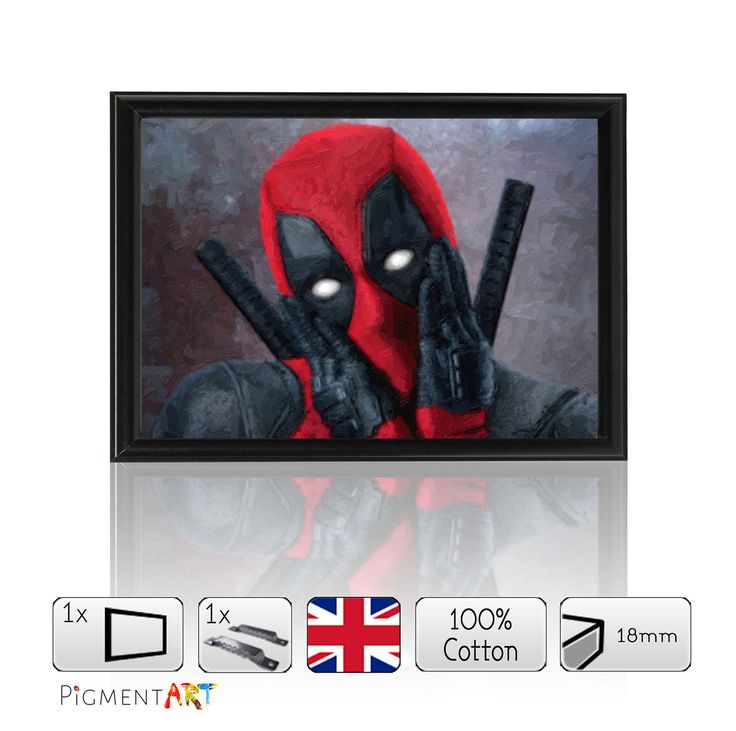 We are pleased to announce that we have launched a new and unique canvas Deadpool Film 201.... Check it out here! http://canvaswallartprints.co.uk/products/deadpool-film-2016-framed-size-a4?utm_campaign=social_autopilot&utm_source=pin&utm_medium=pin