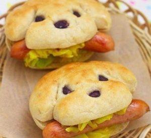 Idées pour faire un hot dog original ! Amusez-vous à faire de jolis hot dog originaux pour amuser les enfants..