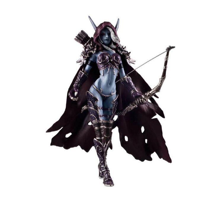 Dota 2 Darkness Ranger Lady Sylvanas Windrunner Action Figure Toys //Price: $73.40 & FREE Shipping //     #actionfigurecollectors