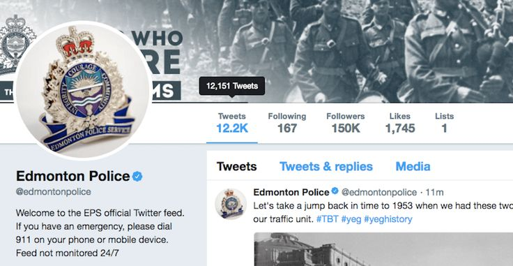 Edmonton   may have the most hilarious police Twitter account in Canada: