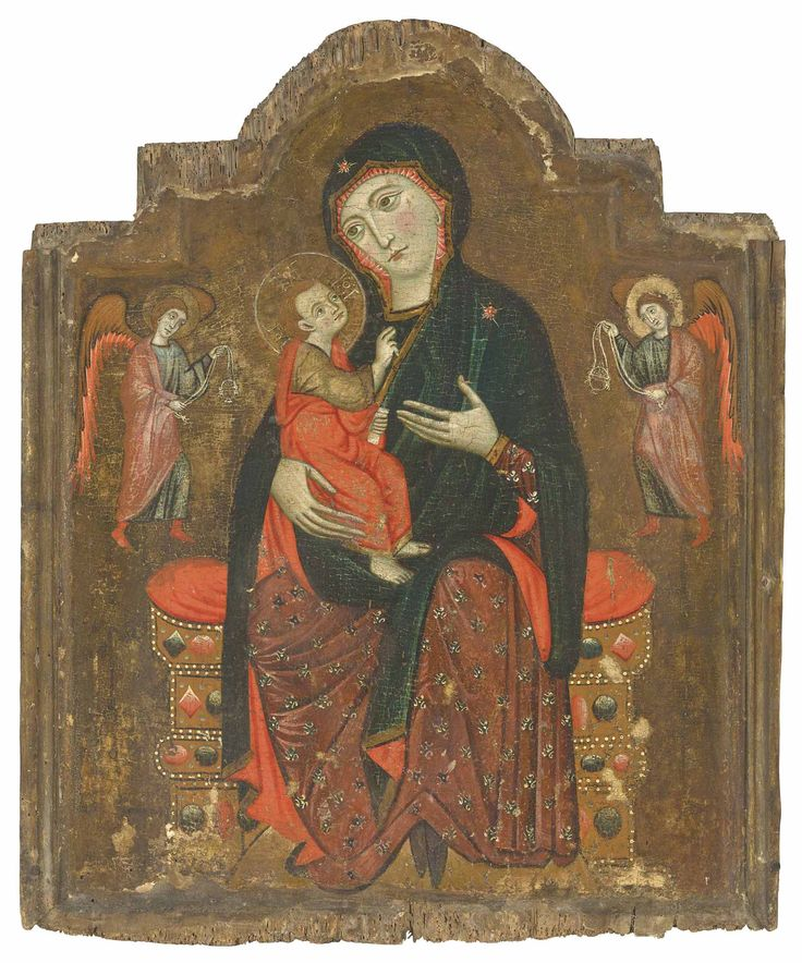 Image result for tuscan madonna christie's thirteenth century