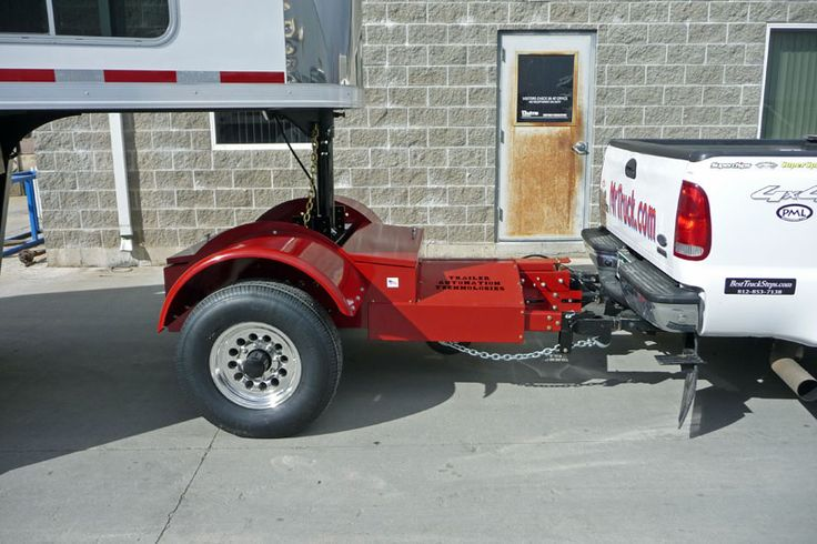 """The Automated Safety Hitch, adds an axle to your pickup truck for turning tighter with gooseneck and 5th wheel trailers, 50% improvement in braking, tow gooseneck with a SUV, inline dually, improve youGooseneck Horse Trailers, 5th Wheel RVs and Flatbed Goosenecks."" - welcome to mrtrailer.com"