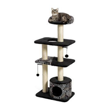 Tower Cat Gym. In black!