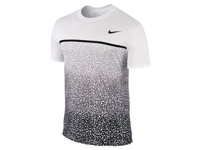 Nike Challenger Printed Crew Men's Tennis Shirt
