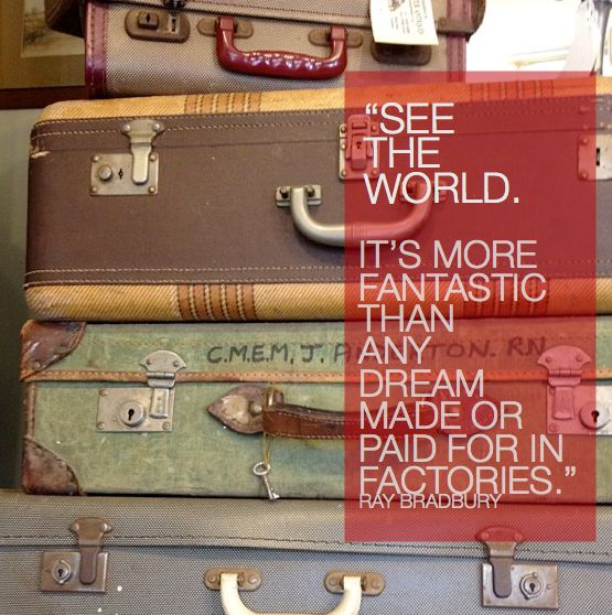 e9b6dcecec Travel the world - fill your suitcase with treasures
