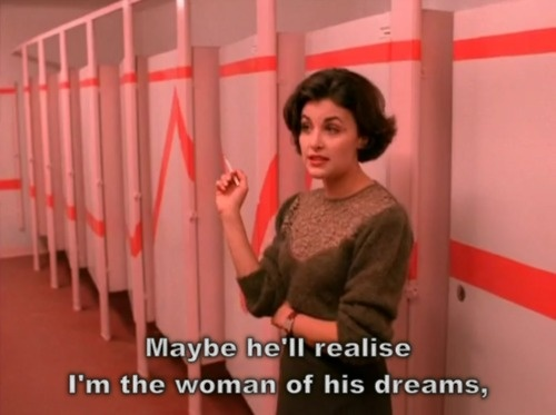 audrey horne (played by sherilyn fenn), twin peaks