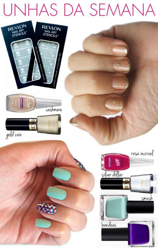 55 best nossas unhas images on pinterest nail arts unhas de segunda nail art stencilsurban prinsesfo Gallery