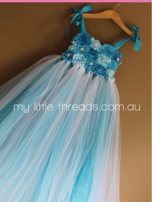 Premium Elsa Dress - Hand made to order from $130