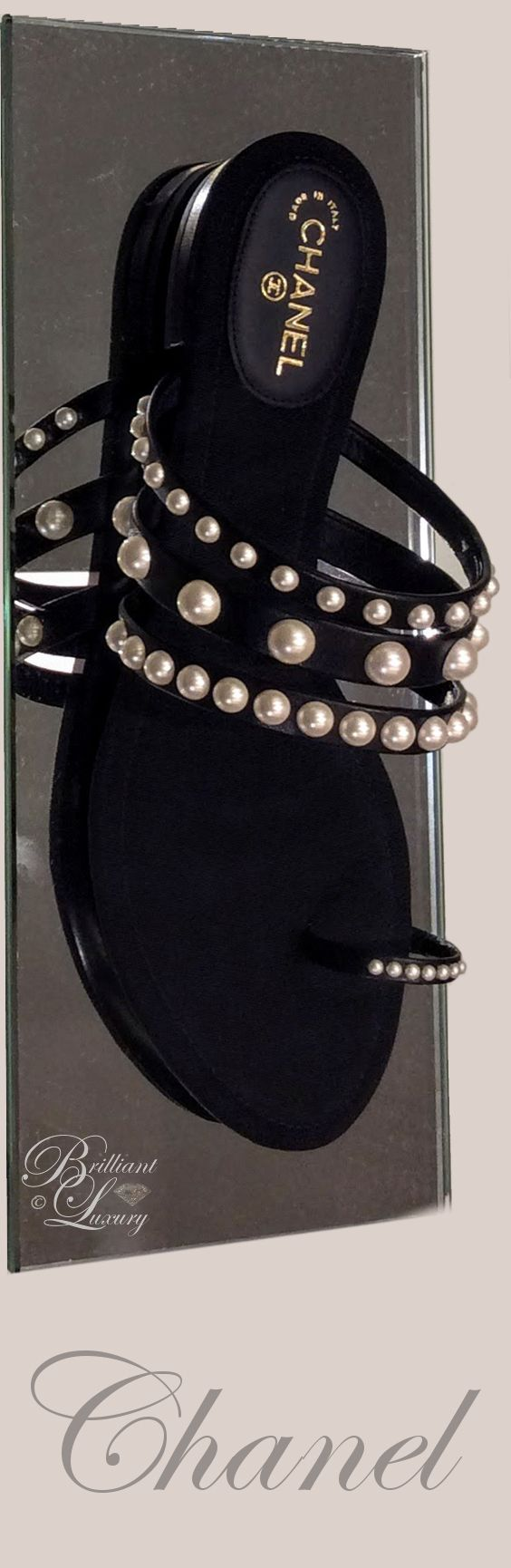 Brilliant Luxury by Emmy DE * Chanel #sandals