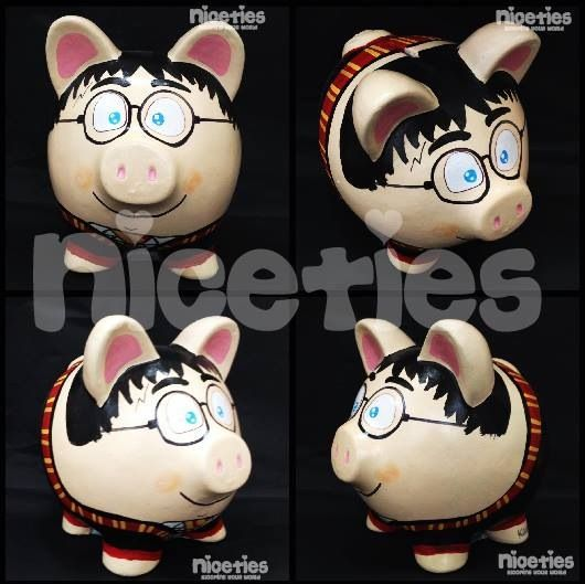Harry potter poink alcancías cute cool nicetiesart like