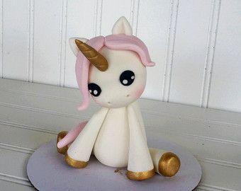 Torta de Fondant unicornio