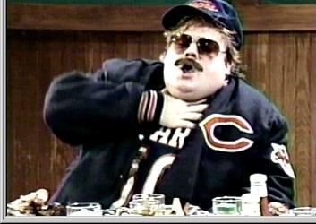 "Chris Farley, ""Just havin another heart attack.....That makes a ahhh, bakers dozen Baaab."""