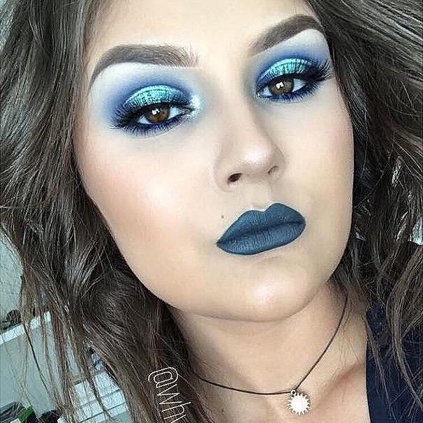 Ice Princess Eye Makeup Look
