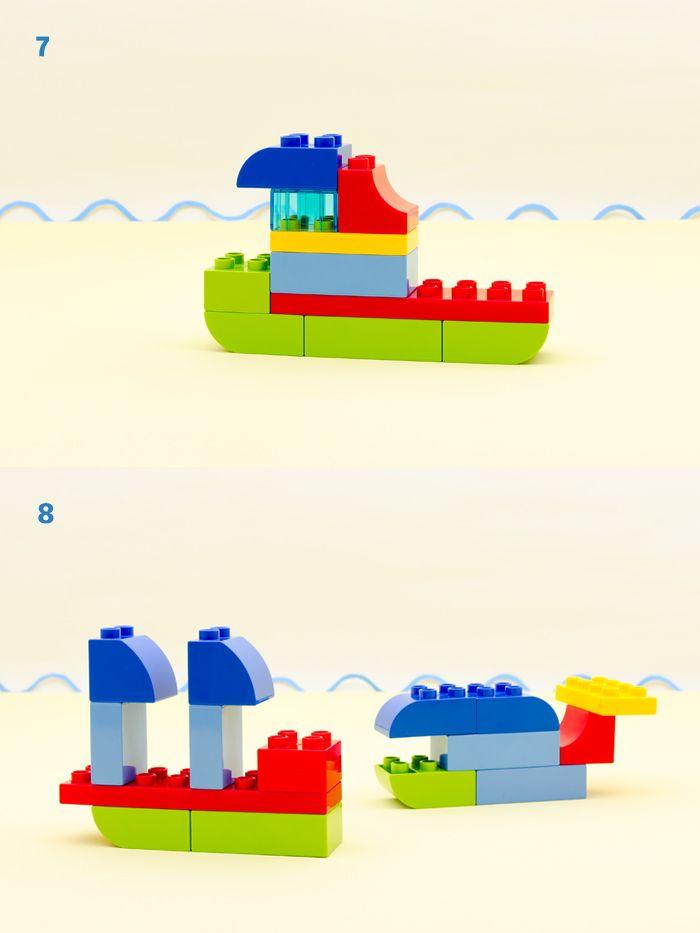 LEGO family on the go BOATS