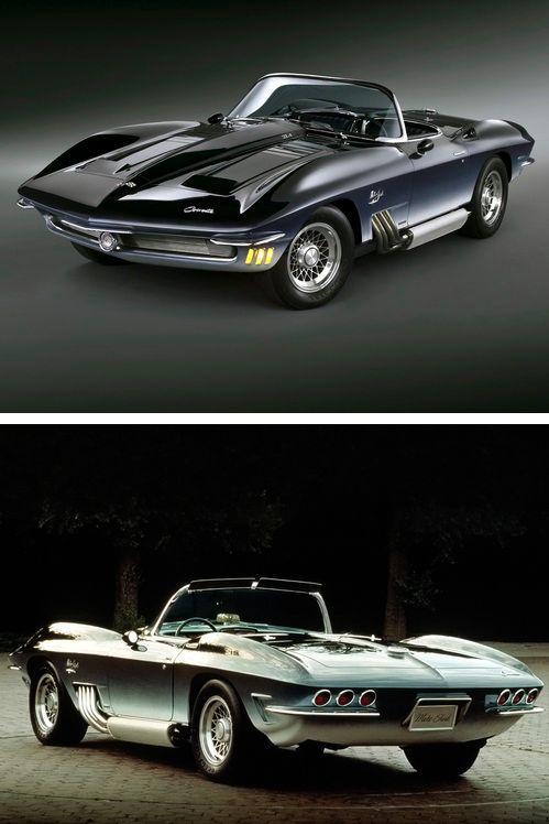 1962 Chevrolet Corvette Mako Shark #chevroletcorvette1962