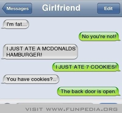 I want a boyfriend who leaves their back door open for me so I can have cookies!!!  How sweet! ❤