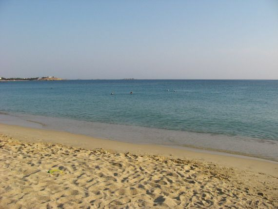 Agios Prokopis Beach, Naxos