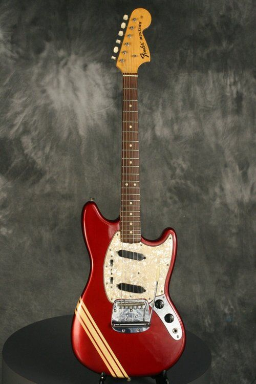 Fender Mustang 1971 Competition Red