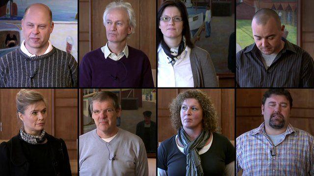 En del af Cumulis inspirationsoplæg bestod af en film, hvor medarbejdere fra otte arbejdspladser i kommunen kom med deres bud på god kommunikation - og hvor klassiske kancellitekster som et referat fik en over nakken.