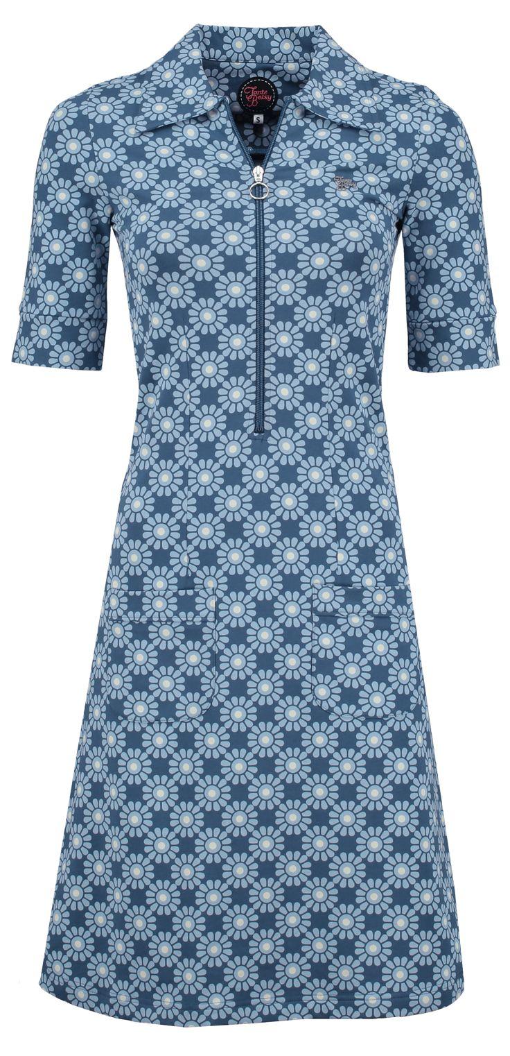 Dress Zippie Sunny Grey -Tante Betsy.com