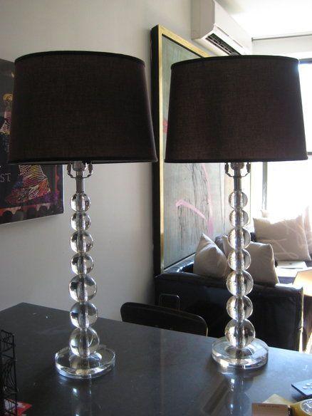 how to make a crystal lamp shade