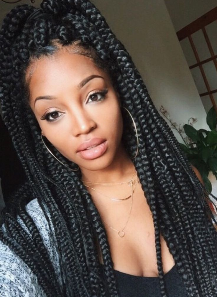 Box Braids Hairstyles Are One Of The Most Popular African American Protective Styling Choi Box Braids Hairstyles For Black Women Hair Styles Box Braids Styling