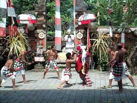 wk 4 - Barong and Rangda Dance
