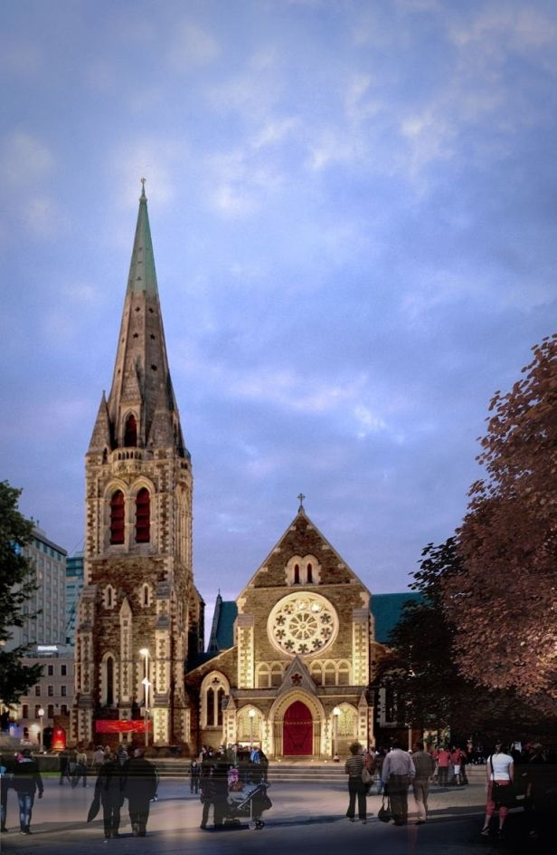 Christchurch Cathedral New Zealand,,Christchurch's most historic building