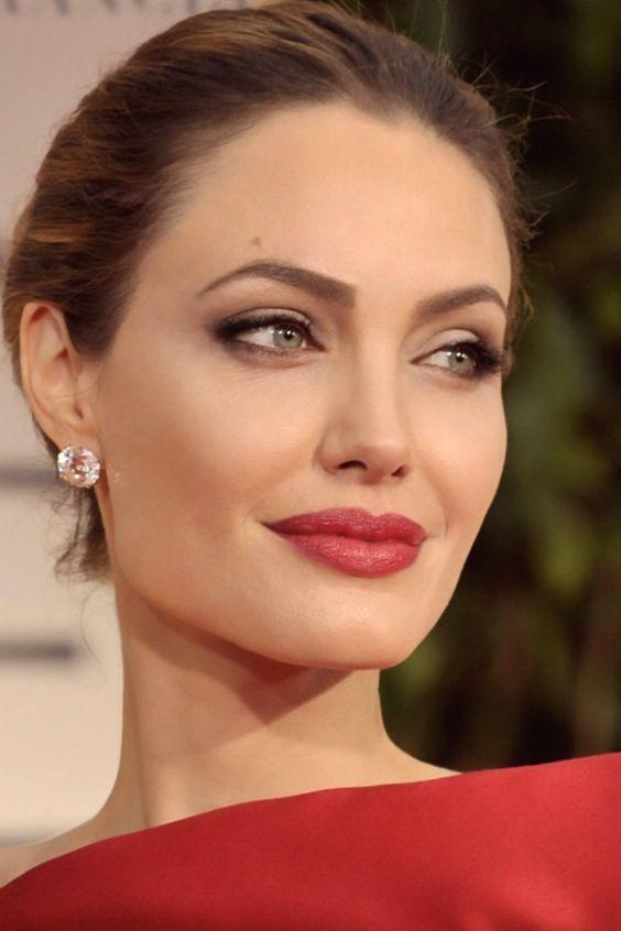 maquillaje de dia con labios rojos - Buscar con Google