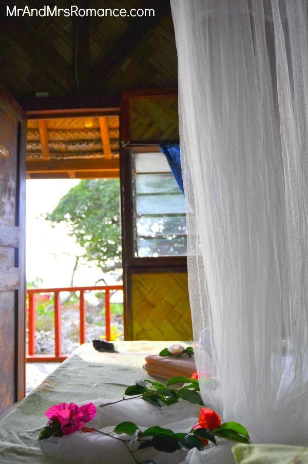 Vanuatu's volcano island: Tanna. Our little bungalow at Rocky Ridge Bungalows was so romantic!
